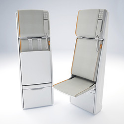 2013 cabin attendant seating