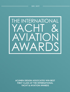 ANA 'The Room' Shortlisted for the International Yacht & Aviation Awards