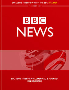 BBC News interview Acumen CEO & founder Ian Dryburgh