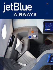 JetBlue and Acumen Design Associates unveil next-generation business class cabin